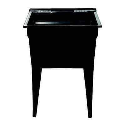 Technoform Tltb Black Polypropylene Laundry Sink Laundry Tubs