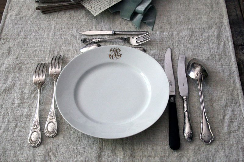 French Silverware | French table, French style and Flatware
