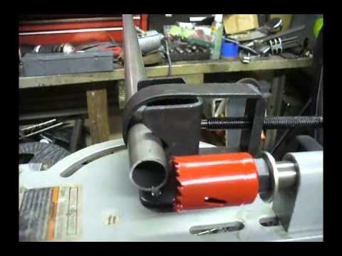 Harbor Freight Tubing Notcher Modifications - YouTube