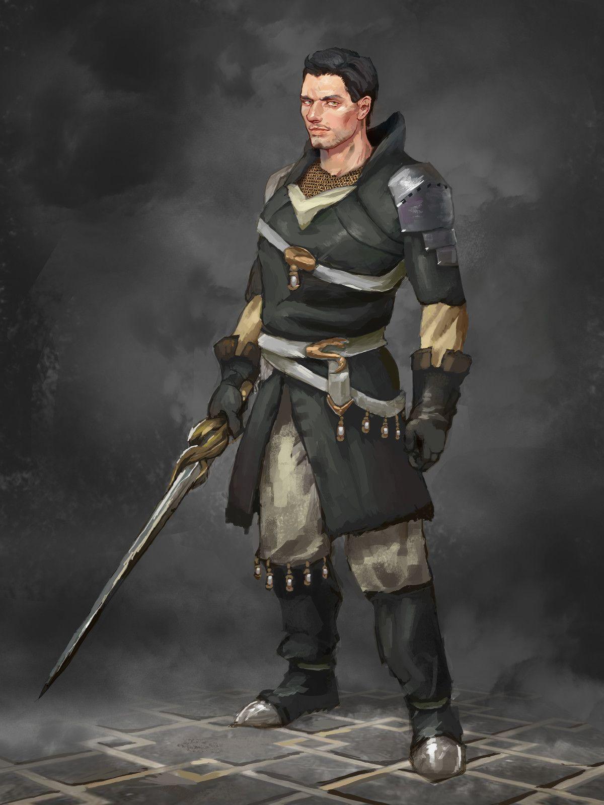 Serpent Tracker, Andrew Ryan on ArtStation at https://www.artstation.com/artwork/855PQ