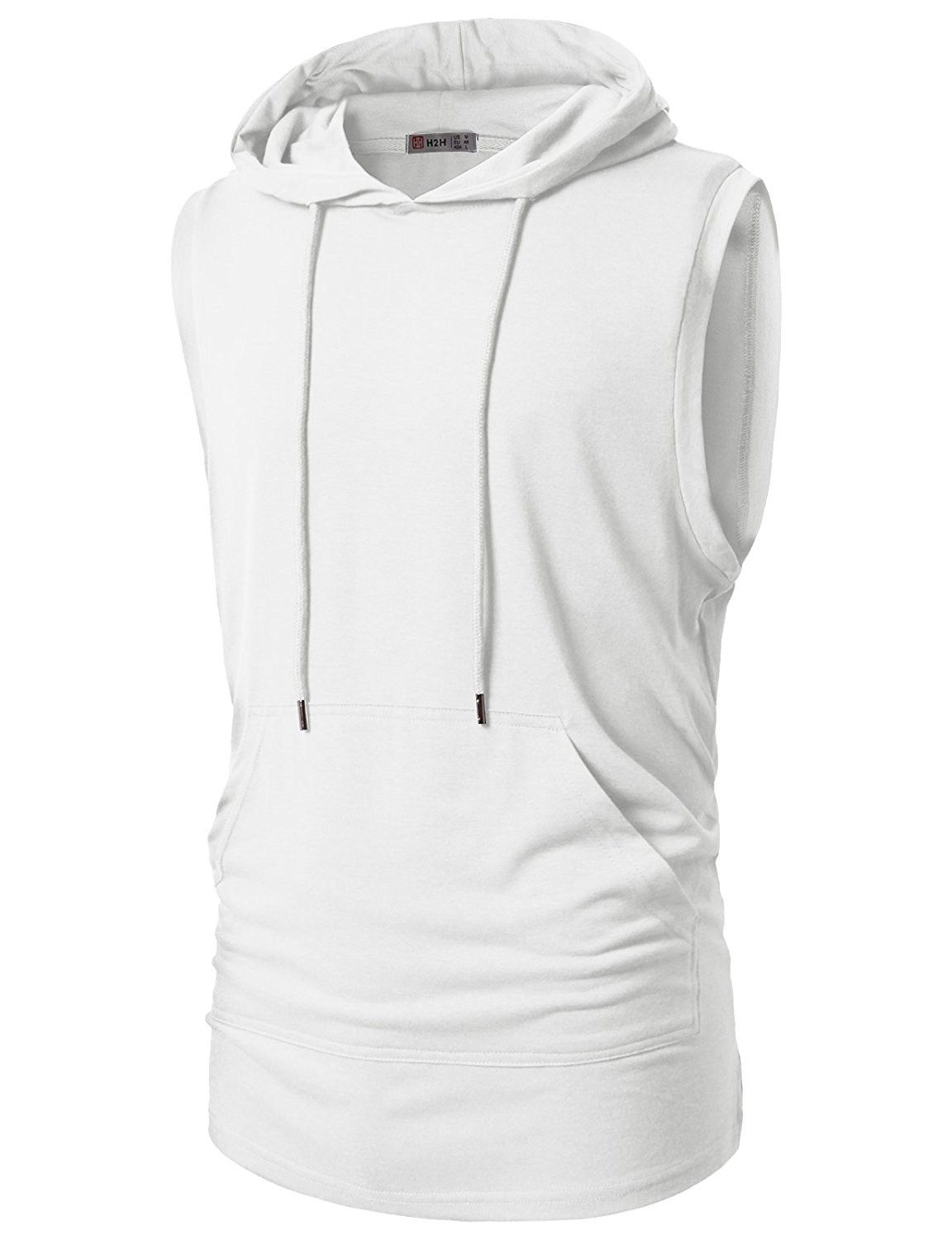 f39b99af Mens Casual Hipster Hip Hop Sleeveless Hoodie Longline Tank-Top With Pocket  - Cmttk028-white - CB182SHEWW5,Men's Clothing, Shirts, Tank Tops #men # fashion ...