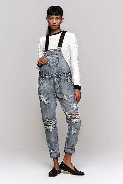 The Raddest Ripped Denim To Buy This Minute #refinery29  http://www.refinery29.com/ripped-jeans#slide1