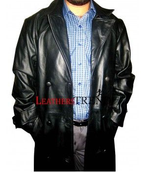Spike Trench Leather Coat From Buffy The Vampire Slayer