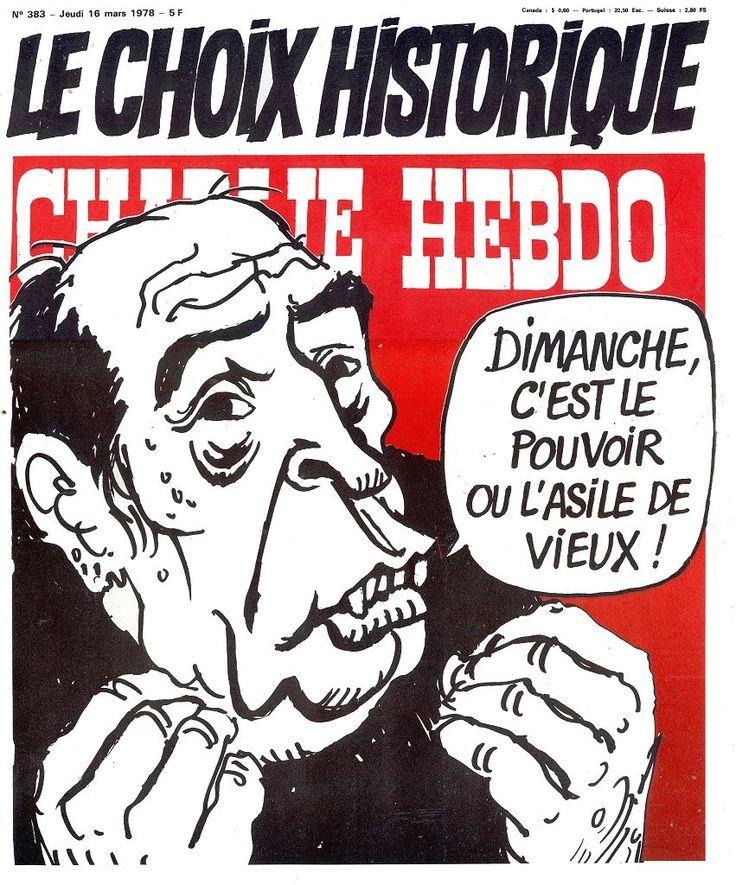 Charlie Hebdo - # 383 - 16 Mars 1978 - Couverture : Cabu