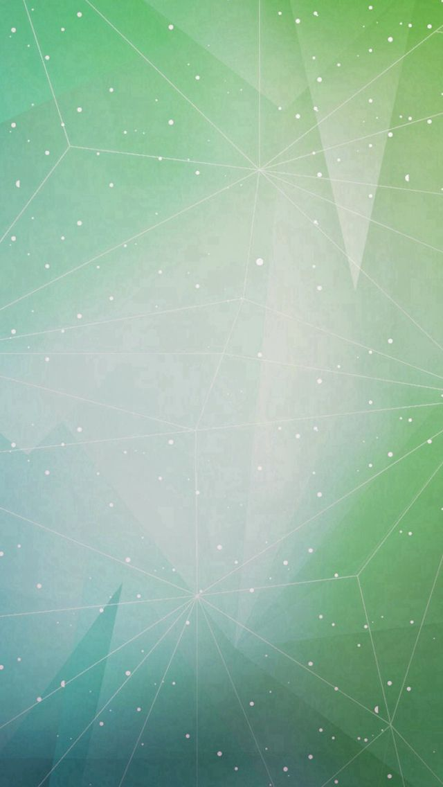 Abstract Triangles Dots Green Iphone 5s Wallpaper Iphone 5s
