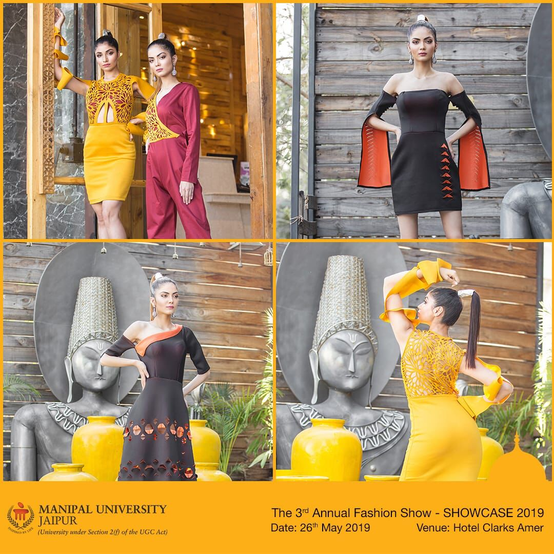 Dept Of Fashion Design Is Hosting 3rd Annual Fashion Show Showcase 2019 On 26 May 19 At Hotel Clarks Amer Jaipur 22 Budding D Manipal Jaipur Fashion Show