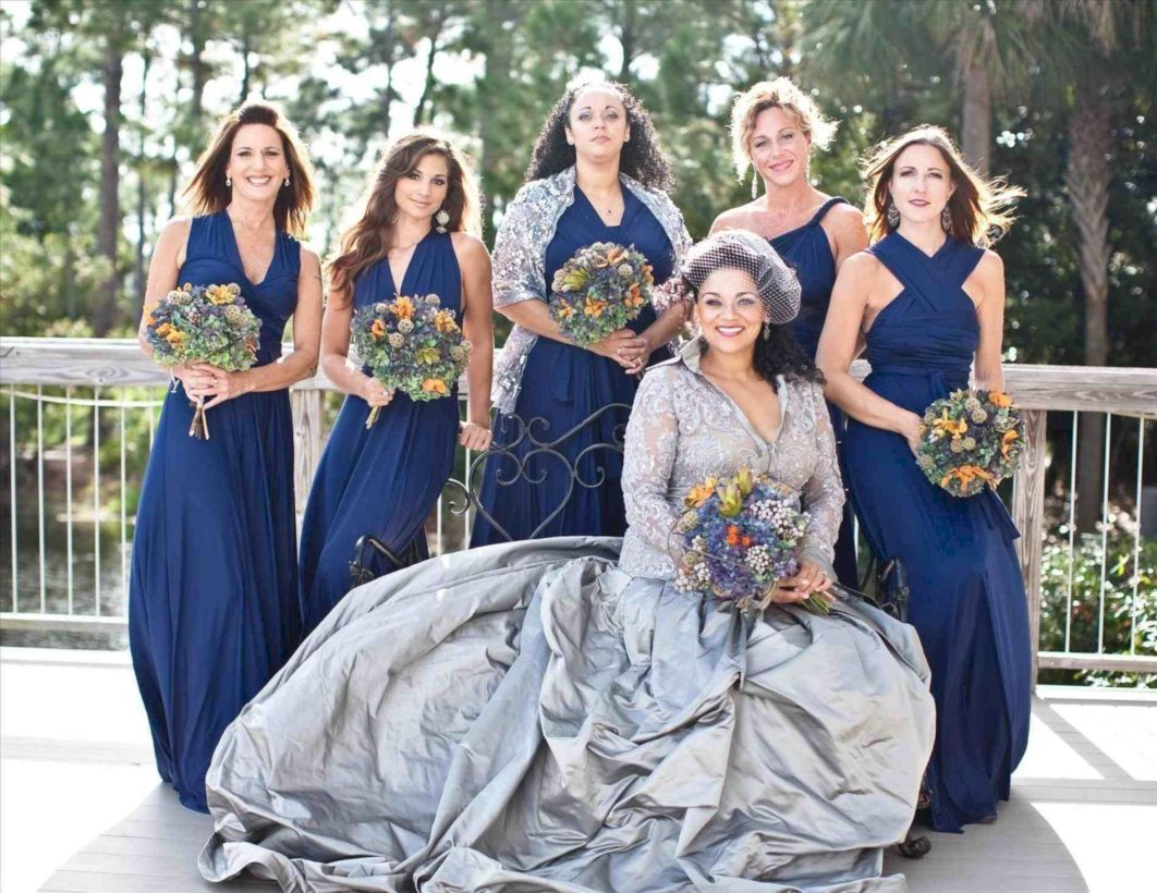 fantastic silver bridesmaid dresses ideas wedding dress