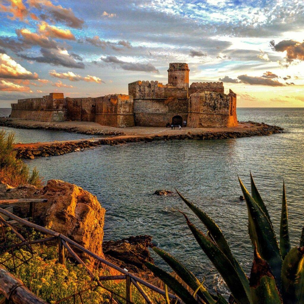 Il castello aragonese di Le Castella Isola Capo Rizzuto