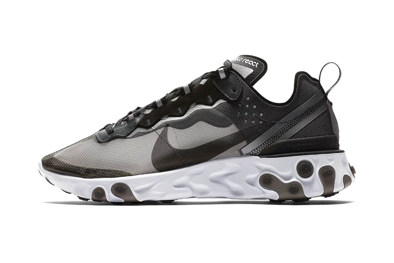 This Nike React Element 55 Gets A Stealthy Look