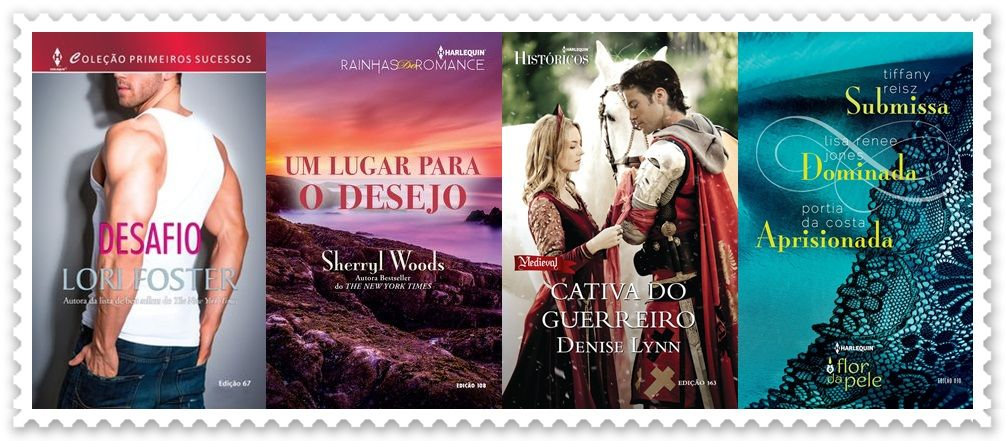 SEMPRE ROMÂNTICA!!: Lançamentos Harlequin Brasil - Dezembro