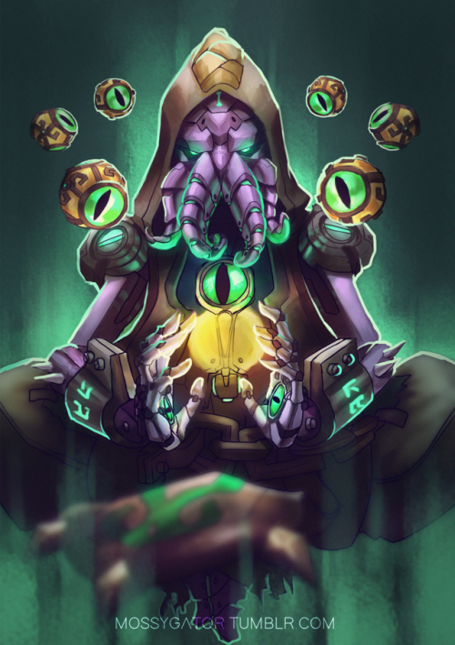 Pin By Joel Coutts On Cthulhu Overwatch Overwatch Zenyatta