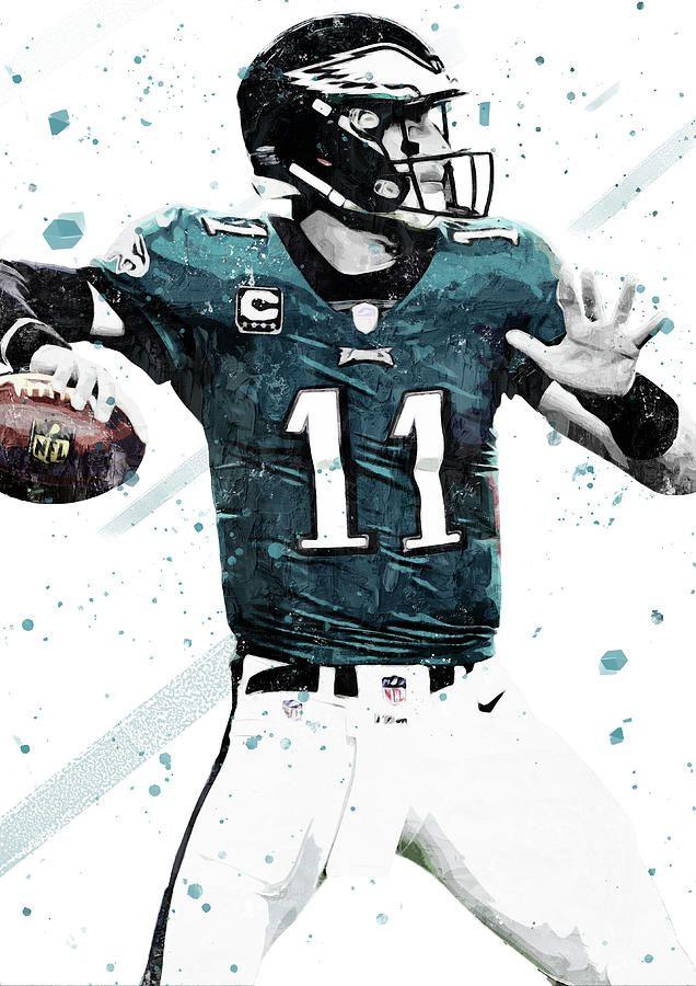 Carson Wentz By Smh Yrdbk Philadelphia Eagles Wallpaper Carson Wentz Philadelphia Eagles Football