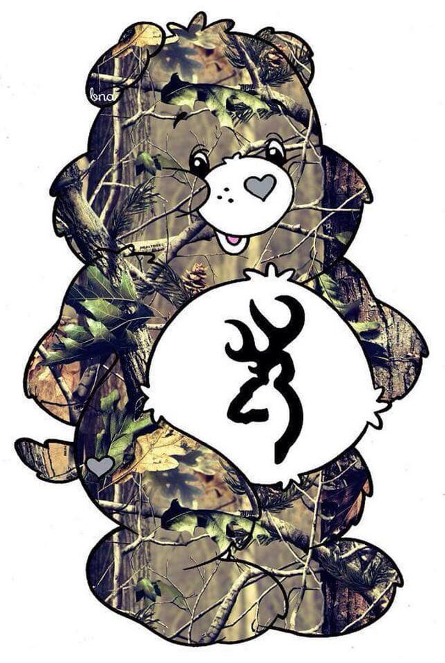 Camo care bear wallpaper cell phone wallpapers camo - Browning deer cell phone wallpaper ...