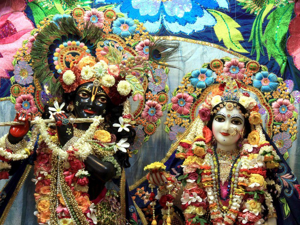 Wallpaper download of krishna - Free Download Lord Krishna Iskcon Wallpapers