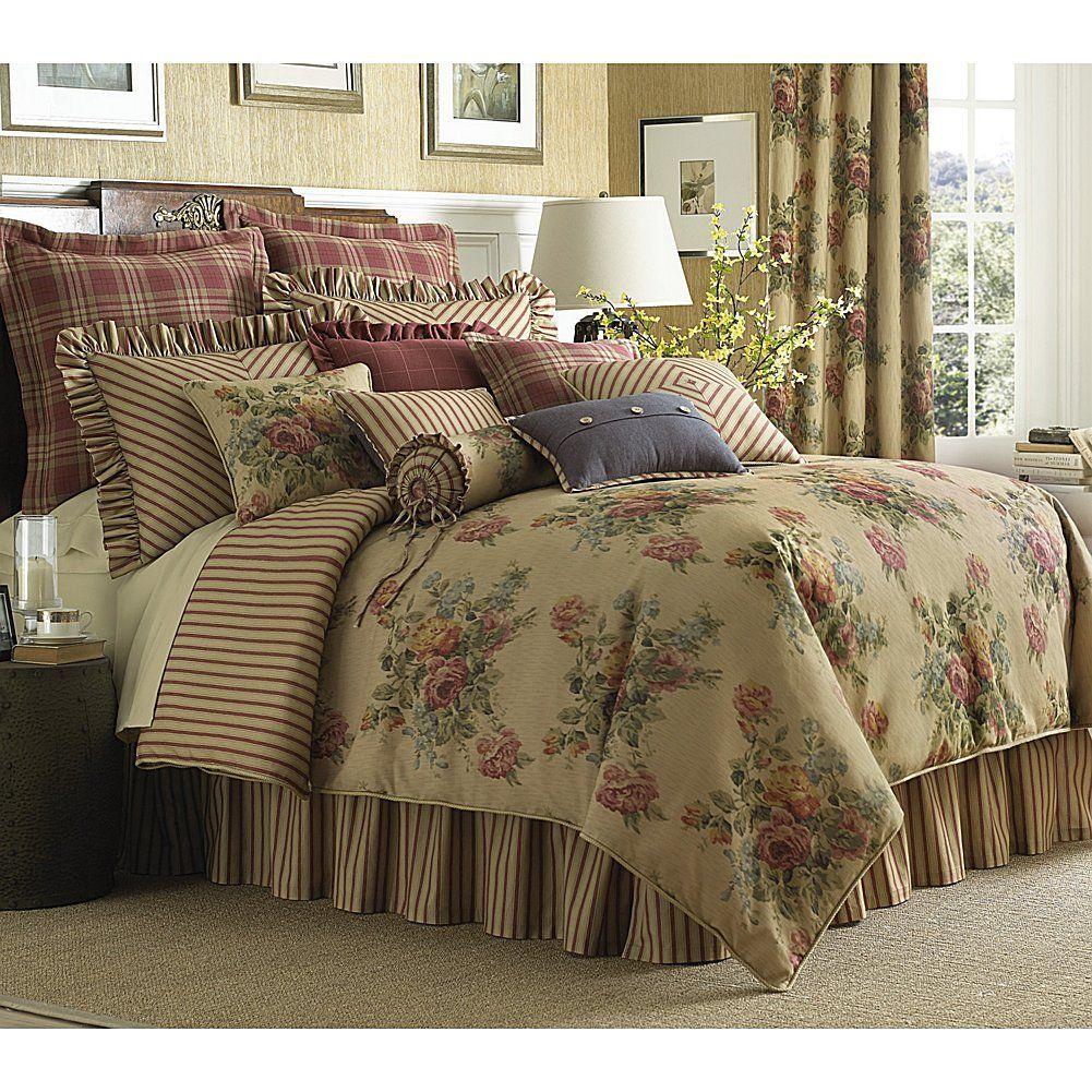 Rose Tree Hamilton Comforter Set, Queen