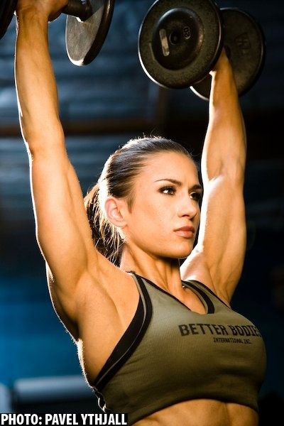 When you train your ass off and diet as you should and nothing happens its almost always a case of underestimating the intensity needed in the gym and overestimating the diet efficiency - Pauline Nordin (pictured)