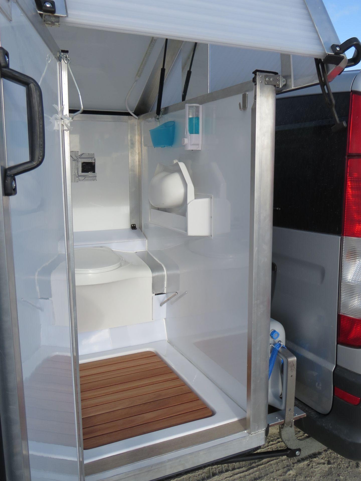 bath2go Die Badkabine für Campervans Camper ideen