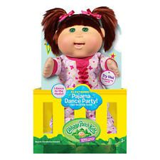 Cabbage Patch Kids Pajama Dance Party Red Hair With Green Eye Doll New In Box