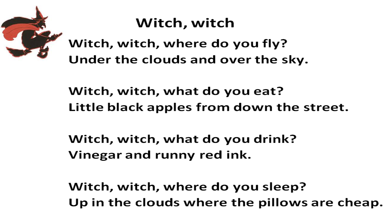 This poem displays a good example of repetition.
