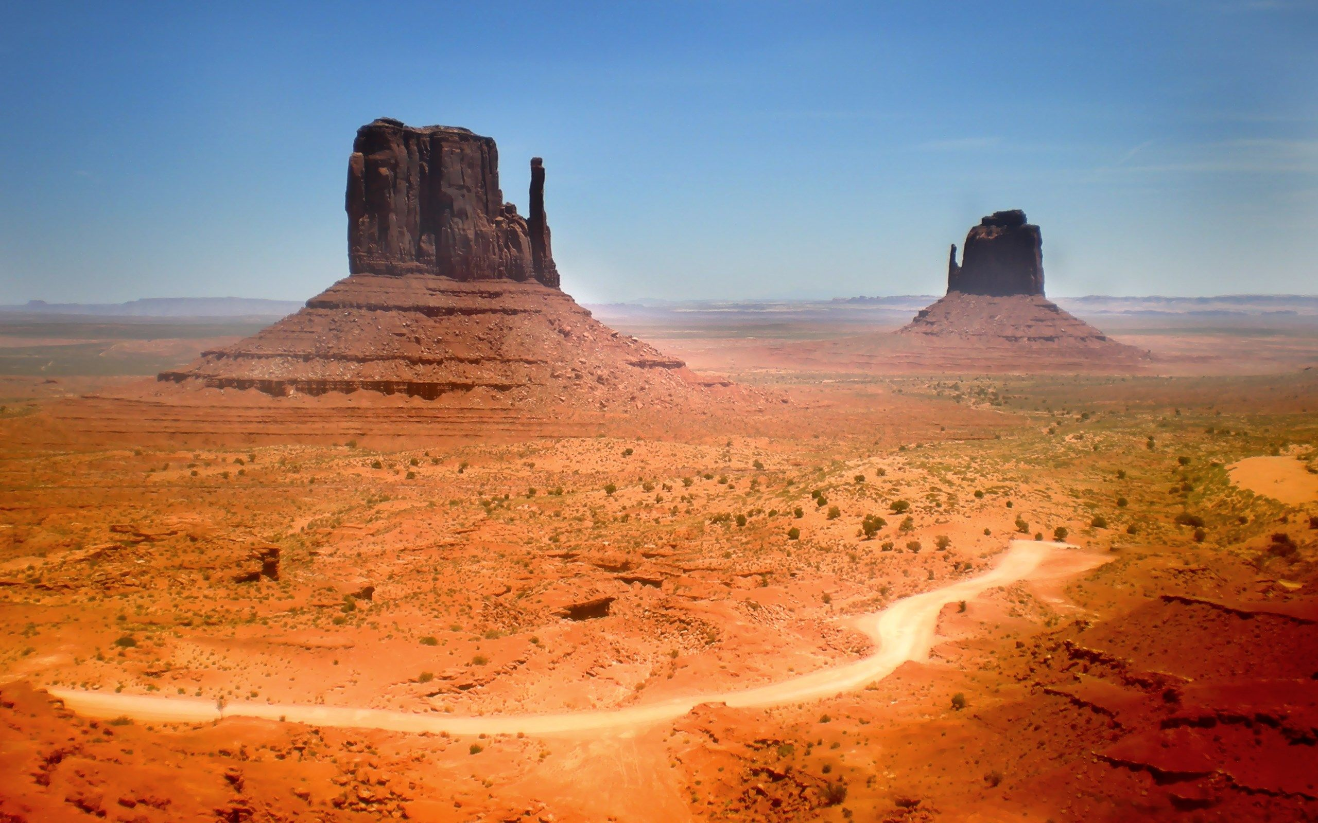 Hd Wallpaper Monument Valley