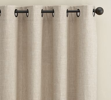 The Soft Nubby Texture Of Our Lined Emery Linen Drape Brings A