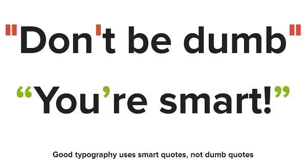 Website Highlights Difference Between u0027Smartu0027 And u0027Dumbu0027 Quotation - website quotation