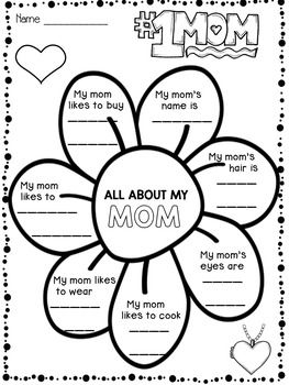 mother s day writing activities i added 26 more pages 46 pages in