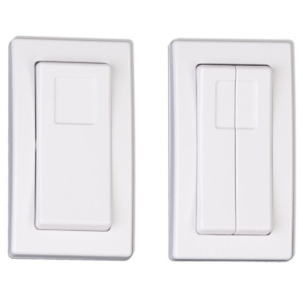 Etrh Resonate Hand Held Rocker Style Switches Provide All The Features Of Our Standard Decorator Switch Switches Double Sided Adhesive Tape Wireless Technology