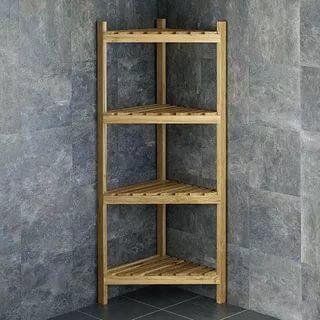 23 Stunningly Corner Shelf Ideas A Guide For Housekeeping Rustic Bathroom Shelves Bathroom Corner Storage Corner Shelf Unit