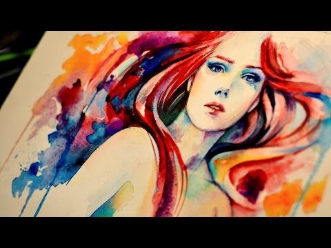 Making Of The Last Dance Watercolor Airbrush Speedpaint