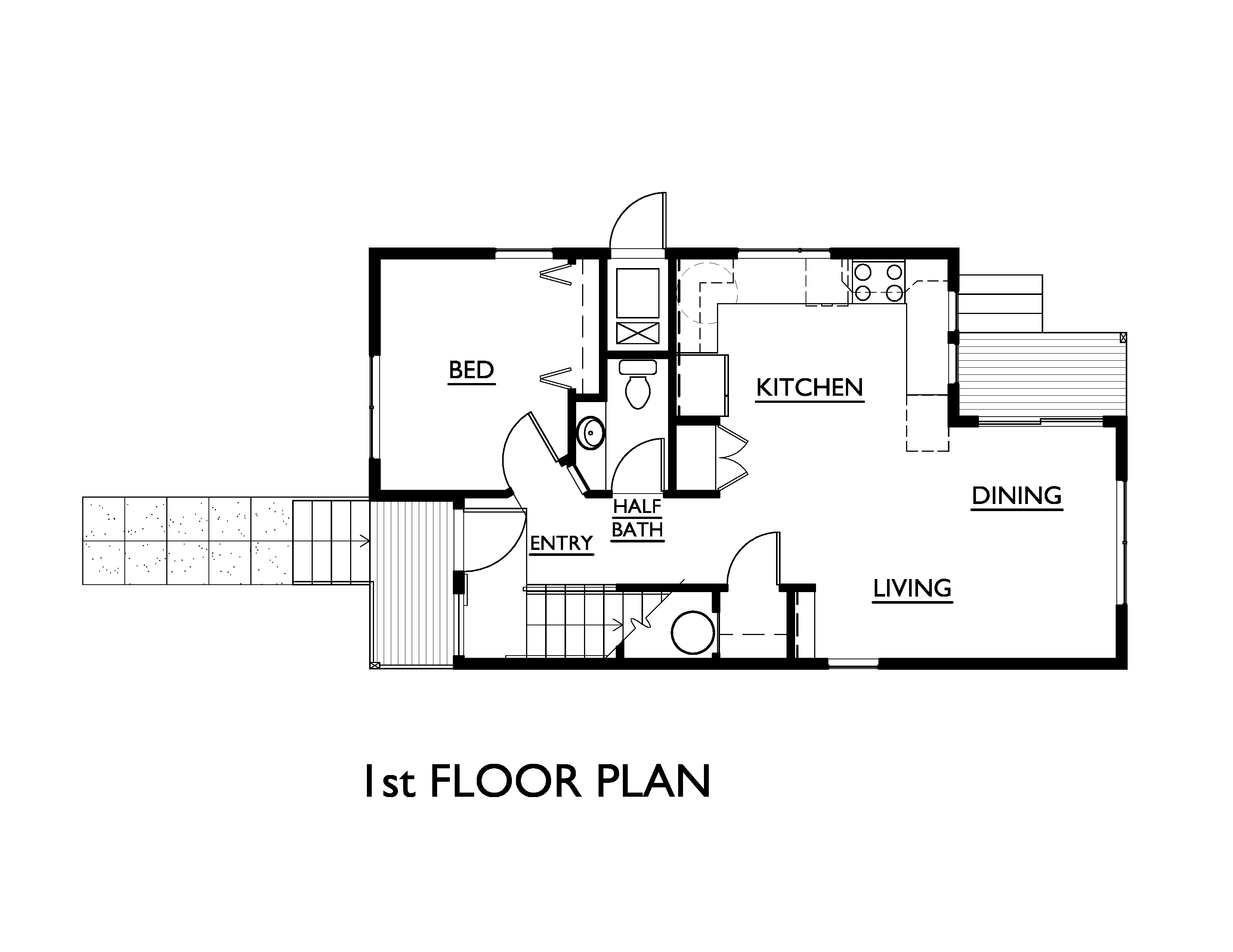 3 bedroom loft house  Modern Style House Plan   Beds  Baths  SqFt Plan  Main