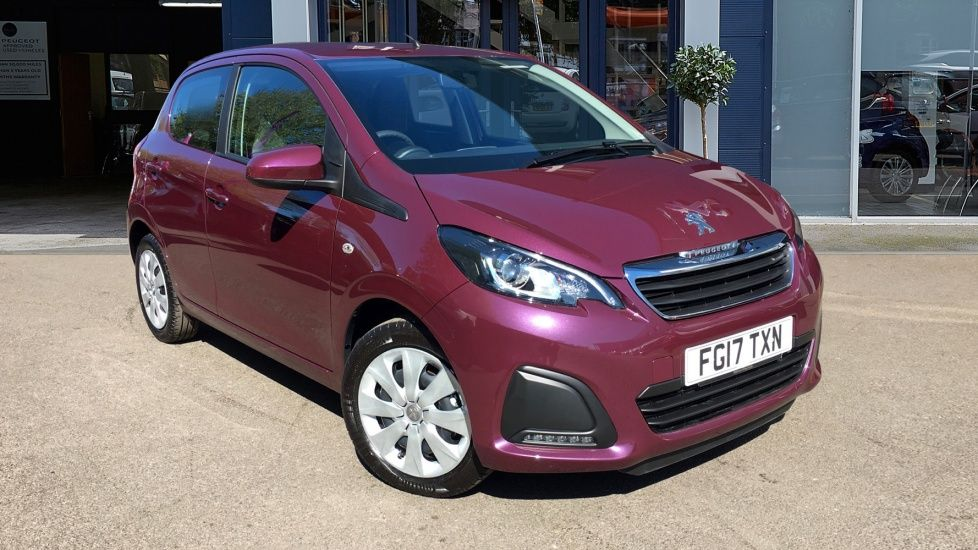 Used Peugeot 108 Hatchback 1 0 Active 5dr Fg17txn Robins And Day