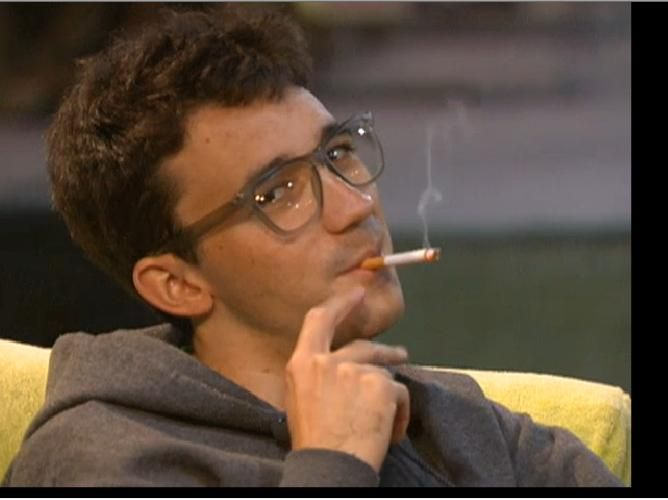 Smoking can make anyone look cool! LOVE!!! #BB14
