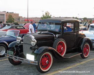 (Photos) Morton Grove Classic Car Show 8/24/12 #mortongrove This 1931 Model A Ford was used in the 2009 film Public Enemies. Photographed at Morton Grove Classic Car Show. #mortongrove