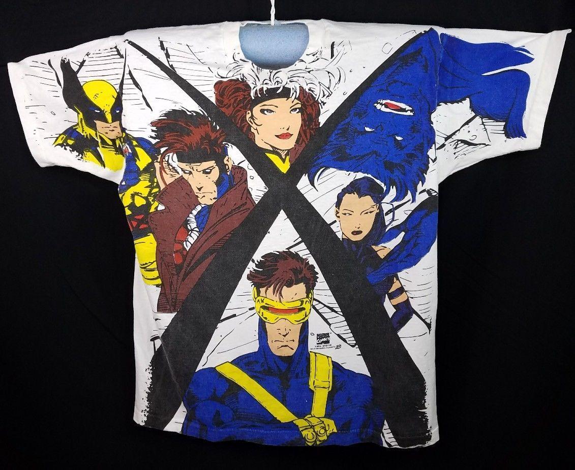 New GAMBIT X-Men Short Sleeve Men/'s Black T-Shirt Size S to 5XL