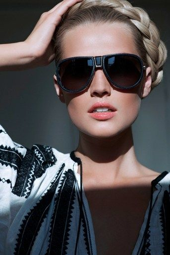 "Katja Rahlwes photographs ""Zoom"" for Vogue Paris, June 2012 with Toni Garrn"