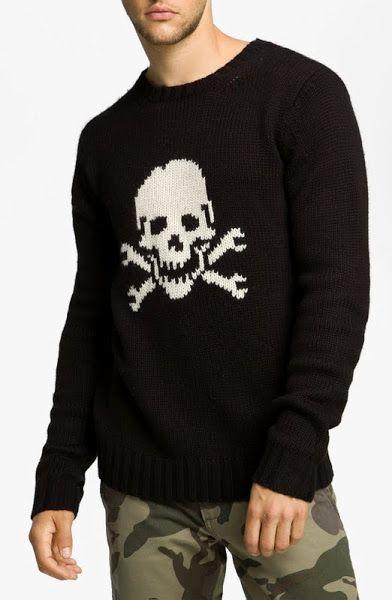 jersey de hombre con calavera Jersey Hombre ac37f8265836