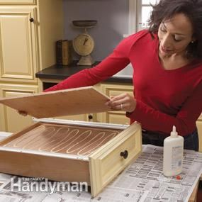 Home Repair How To Fix Kitchen Cabinets Drawers