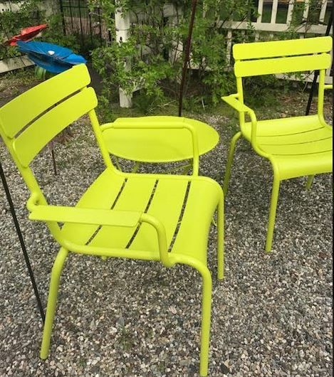 Left Bank Home Has A New Collection Of Super Cool Bright Colored Outdoor  Furniture From Fermob