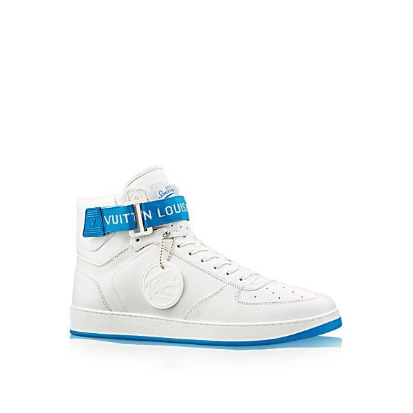 d9c72e4a872b LOUIS VUITTON Rivoli Sneaker Boot. #louisvuitton #shoes # | sneakers ...