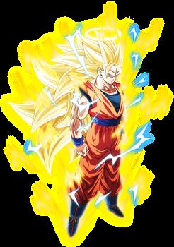 Super Saiyan 3 Goku 1 Aura By Aubreiprince Anime Dragon Ball Super Dragon Ball Super Manga Anime Dragon Ball