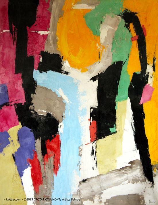 Blog art abstrait crozat coulmont blog de l 39 artiste for Artiste art abstrait