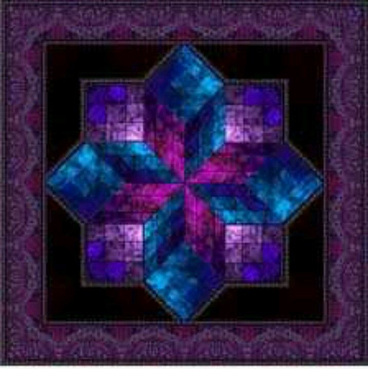 Pin By Joyce Zavesky On Purple Quilts Stained Glass