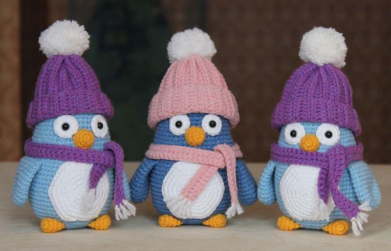 Patrón de amigurumi de pingüino bebé gratis | amigurumis | Pinterest ...