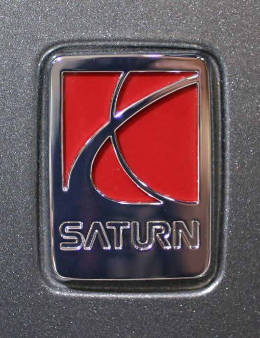 Vintage Car Emblems Saturn Mechanised Emblems Logos
