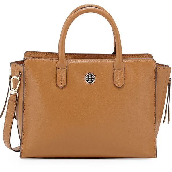 59977e02b75 Tory Burch Brody Small Leather Tote Bag ( 500) ❤ liked on Polyvore  featuring bags