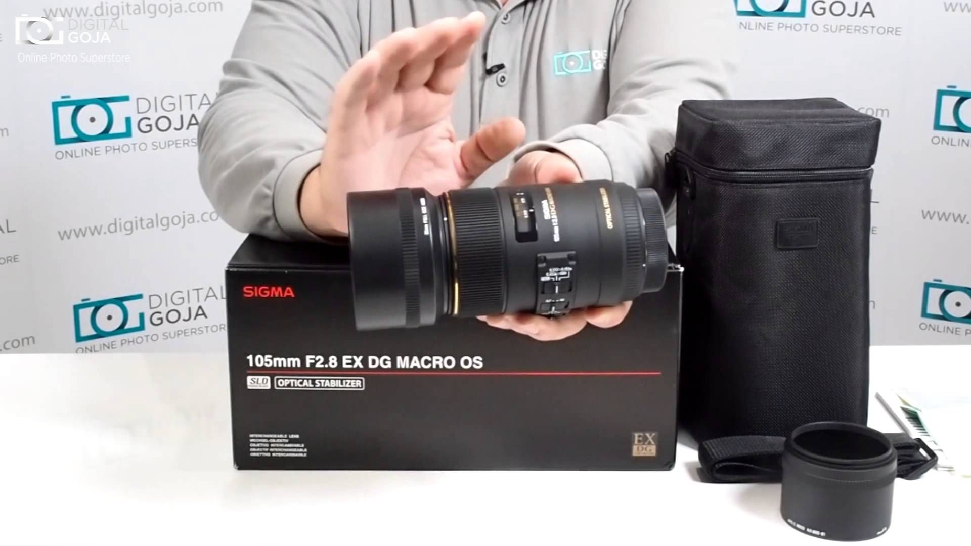 Unboxing The Sigma 105mm F 2 8 Ex Dg Os Hsm Macro For Nikon Nikon Macro Lens Nikon Dslr Nikon Dslr Camera