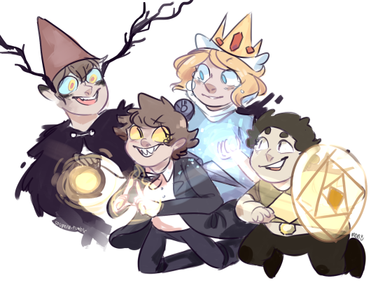 Over The Garden Wall Gravity Falls Adventure Time And Steven
