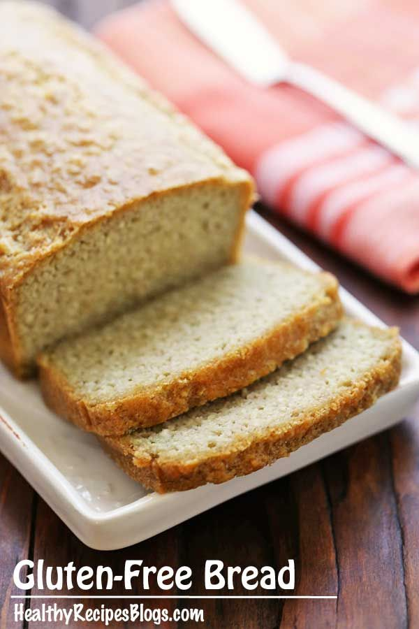 Gluten Free, Low Carb Bread -- 2 net carbs. This looks very easy
