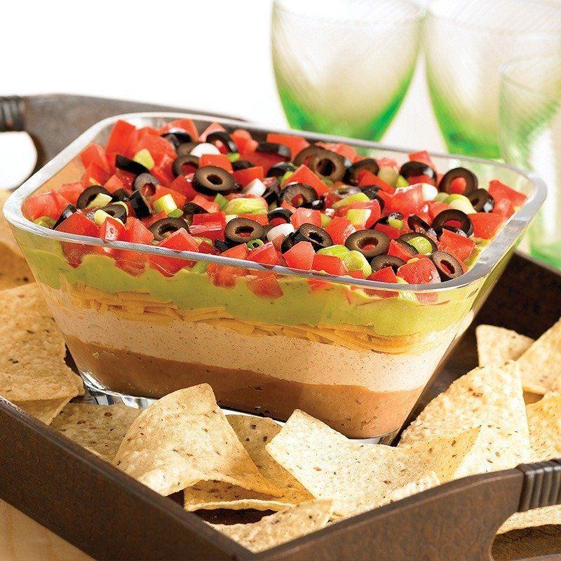 Gluten Free 7 Layer Fiesta Dip Recipe Layered Dip Recipes Food Fiesta Dip